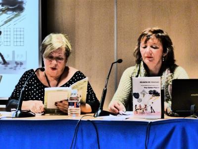 """Artículo sobre la presentación de """"Reunión de colegas"""" y la ponencia """"Mujer y trabajo"""" de Pilar Bellés"""